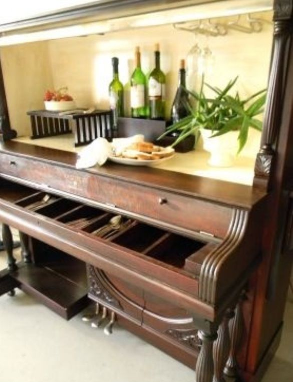 1000 images about piano bar on pinterest piano old pianos and repurposed. Black Bedroom Furniture Sets. Home Design Ideas