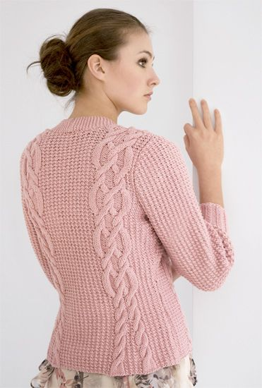 Pretty cotton cardigan pattern - free!