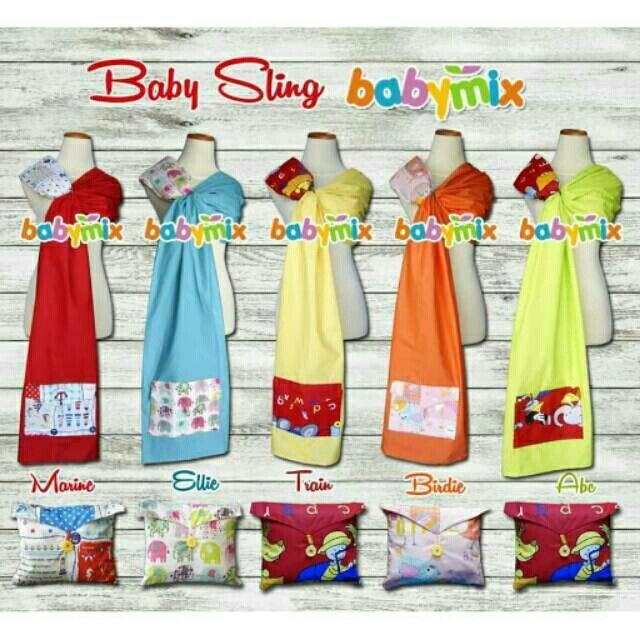 Saya menjual Babymix - Selendang Bayi - Baby Sling Ring - All Motif seharga Rp95.000. Dapatkan produk ini hanya di Shopee! {{product_link}} #ShopeeID