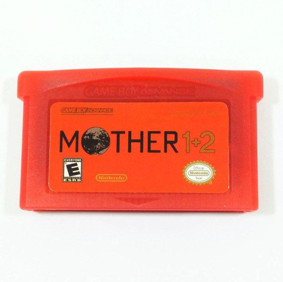 Mother 1 2 GBA Cart (Earthbound Zero) English Fan