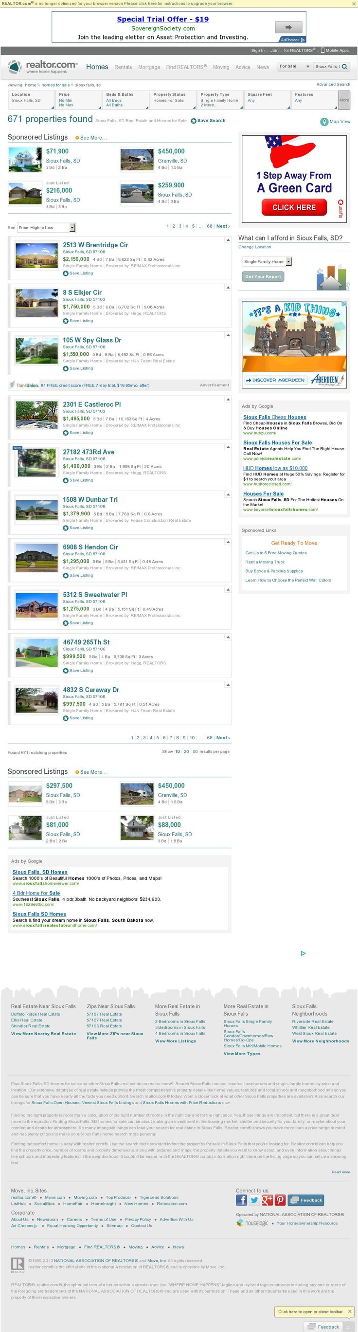 Sioux Falls Real Estate