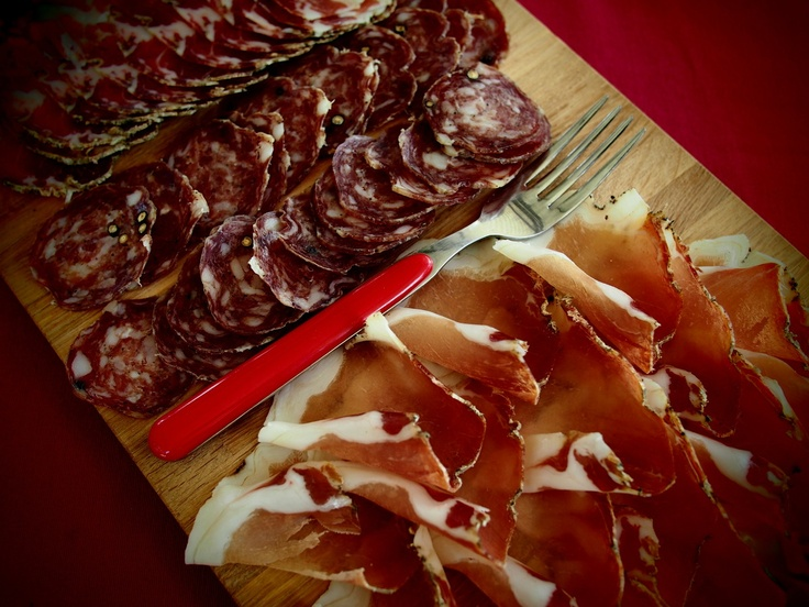 cured meat, Umbria, Italy