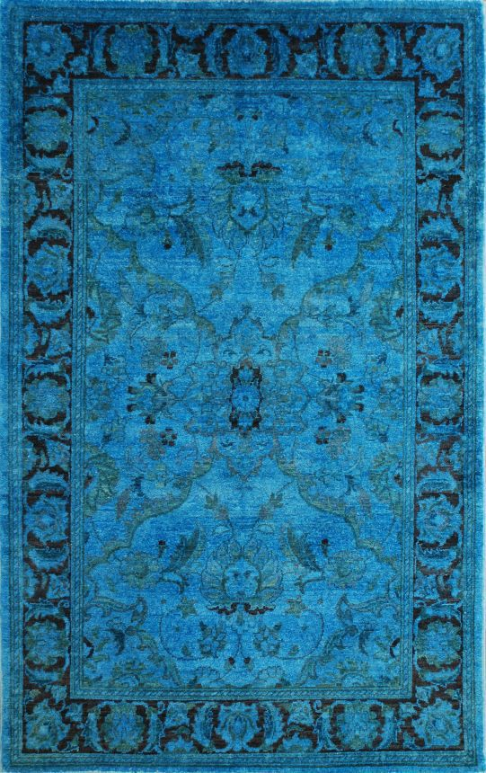 17 best images about home design on pinterest modern for Bright blue area rug