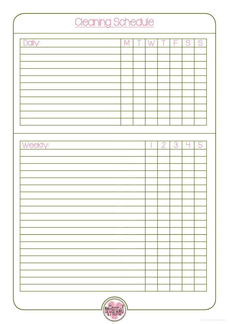 1888 best Agenda Planner images on Pinterest Free printables - weekly checklist