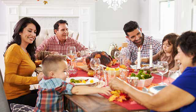 Tips for a Healthy, Happy Holiday Season  - Goal: Damage Control