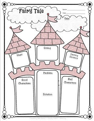 First Grade Book Report Printables fairy tale | Fairy Tale vs. Fractured Fairy Tale Unit & FREEBIE