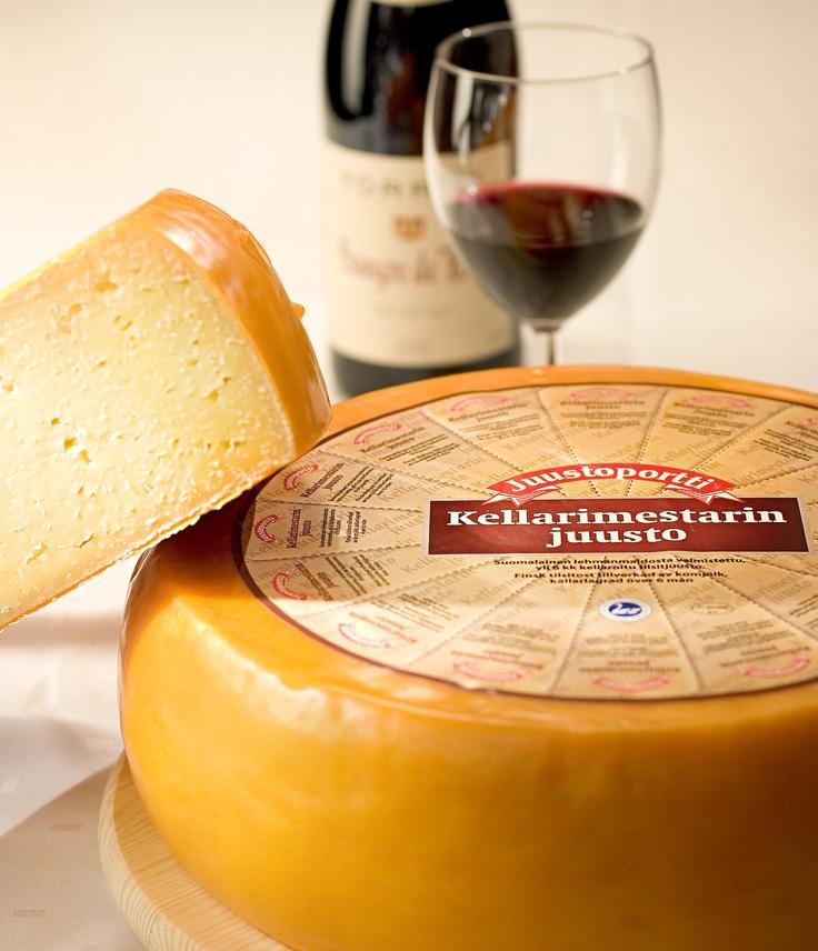 Kellarimestarin juusto on juustomestarimme erikoisuus.