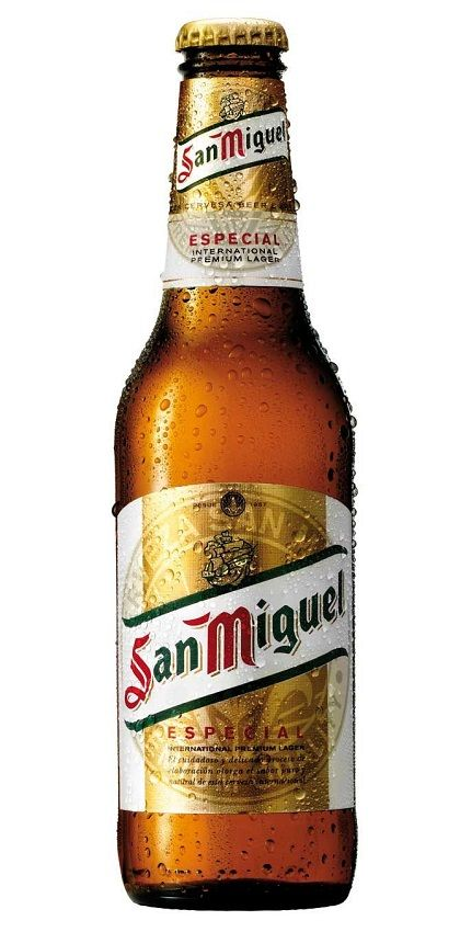 San Miguel Especial, Lager (Mahou San Miguel, España) http://www.mahouindia.com/madrid-will-be-home-mahou-beer-museum.html