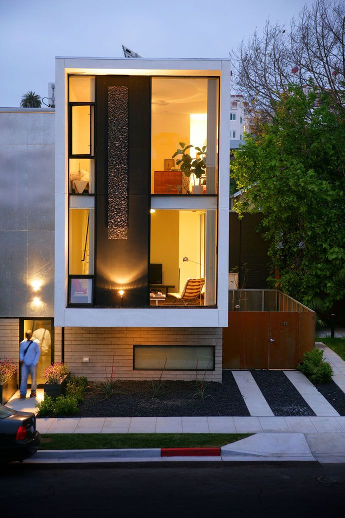 Modern and Sustainable Individual Town Homes by Jonathan Segal FAIA | http://www.designrulz.com/design/2013/04/modern-and-sustainable-individual-town-homes-by-jonathan-segal-faia/