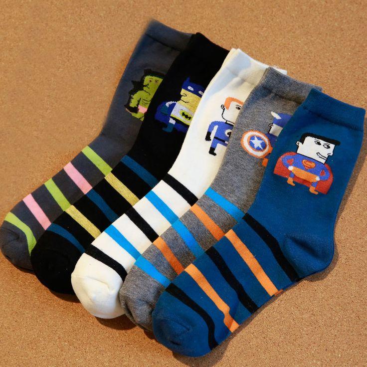 Batman Socks In 5 Colors - free shipping worldwide