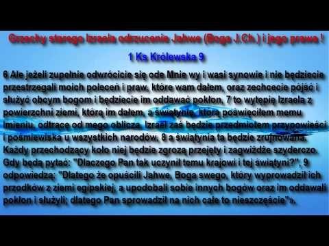 Polska Narodem Wybranym Króla Jahwe Jezusa Chrystusa - YouTube