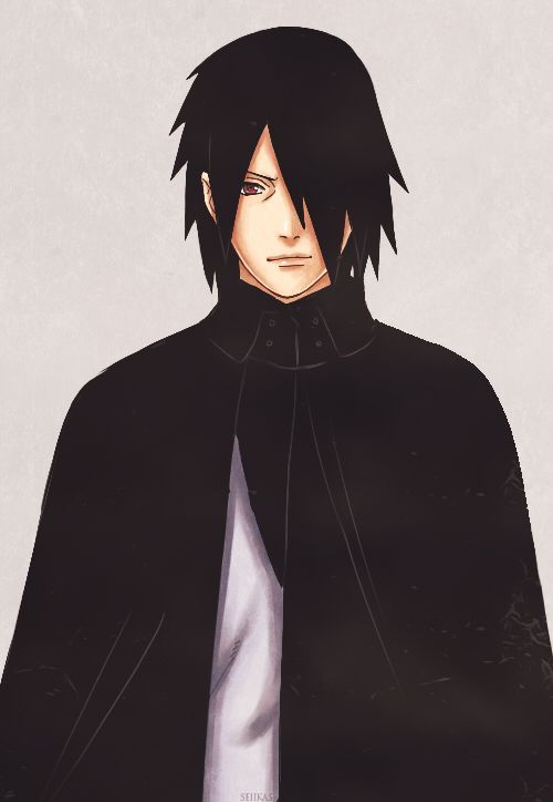 Sasuke Uchiha from the new Art Book (◕◡◕✿)                                                                                                                                                                                 Mais