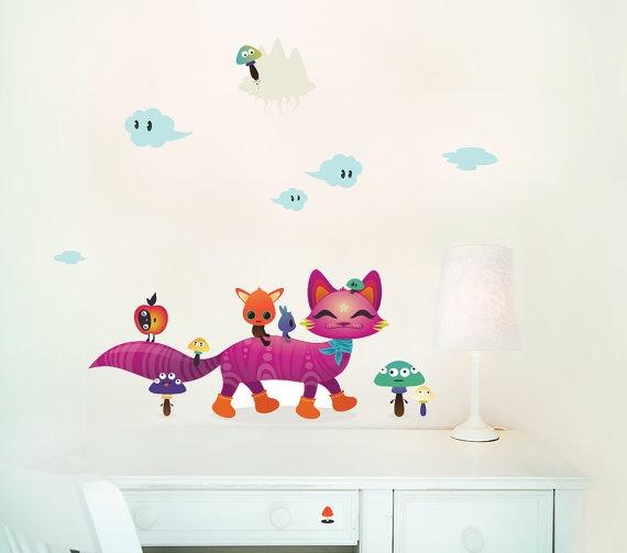 81 best images about murales infantiles pintados y con vinilos on pinterest bebe rainbow - Vinilos murales infantiles ...