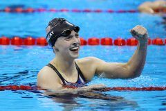 Katie Ledecky Wins Gold In Rio Olympics 4×200 Meter Relay 2016 Race (VIDEO)