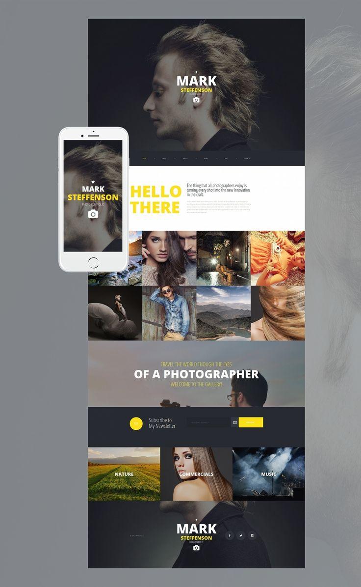 17 besten Photo Portfolio Design Bilder auf Pinterest | Website ...
