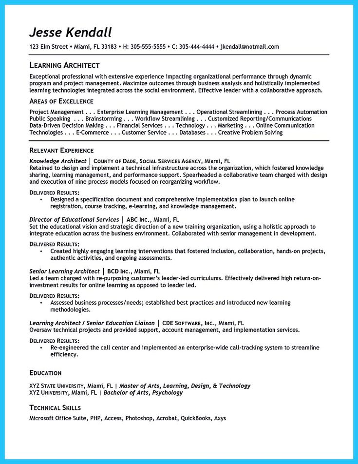 Nice Outstanding Data Architect Resume Sample Collections,  Outstanding Resumes