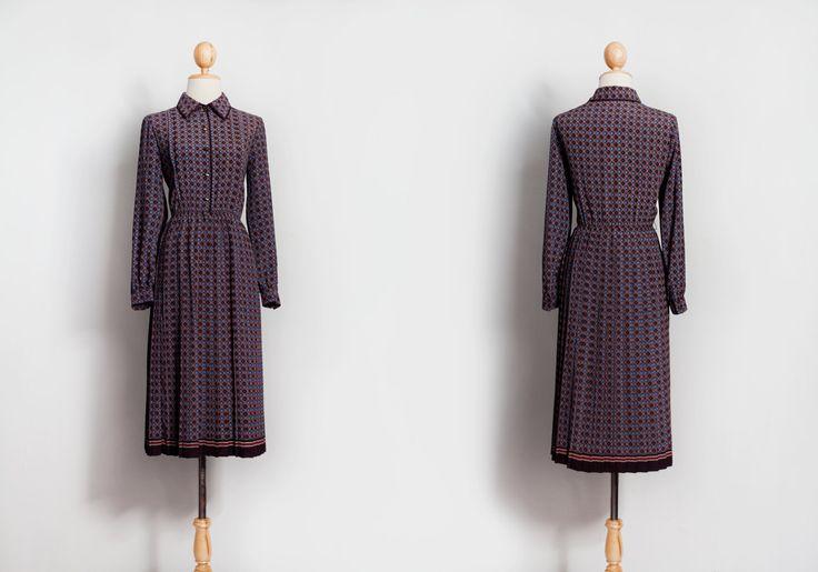 Vintage dress, 60s 70s 80s dresses, Japanese dress,Evening dress, Party dress, Beautiful dress, Retro dress, Women's clothes, Pattern dress, by VintageCosmopolitan on Etsy
