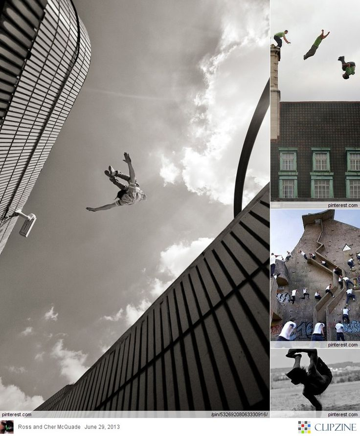 Parkour::Urban Jumping::