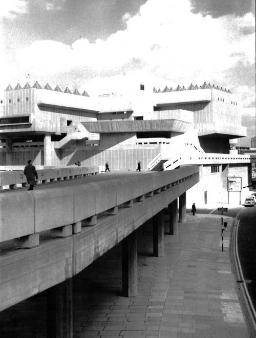 Fuck Yeah Brutalism. Hayward Gallery, South Bank, London, England, 1961-67