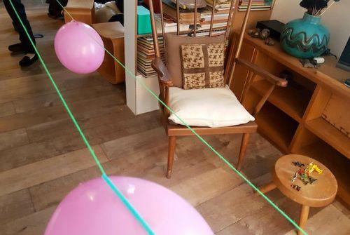 La course des ballons: facile à organiser pour un anniversaire