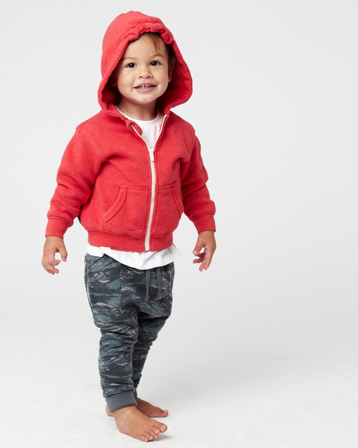 the ASHBURN hoodie, available in 8 colours in ages 0 - 14. the DESERT STORM trackie, available in ages 0 - 14. www.industriekids.com.au