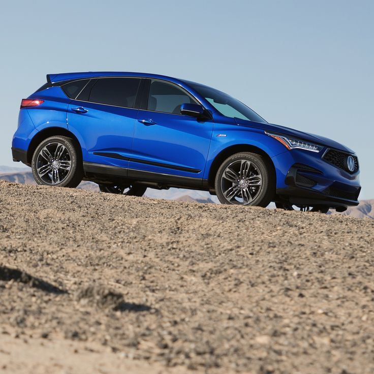 The All-new 2019 Acura RDX With Available A-Spec Trim, 10