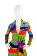 1970s Lanvin Multi Colour Jumpsuit 1200