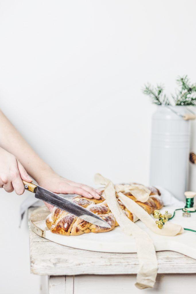 Christmas bread with wholegrain spelt flour / Vianočka z celozrnnej špaldovej múky