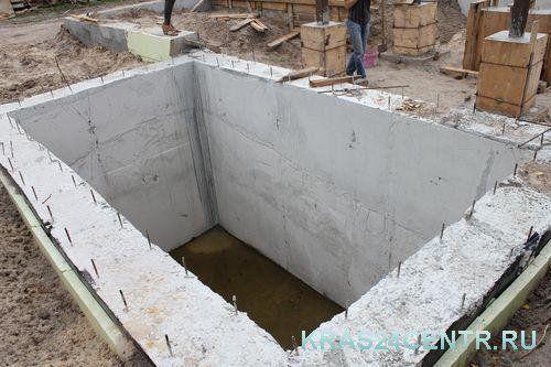 Погреб монолитный от производителя. Подвал. Цокольный этаж. Фундамент. Ремонт погреба, подвала