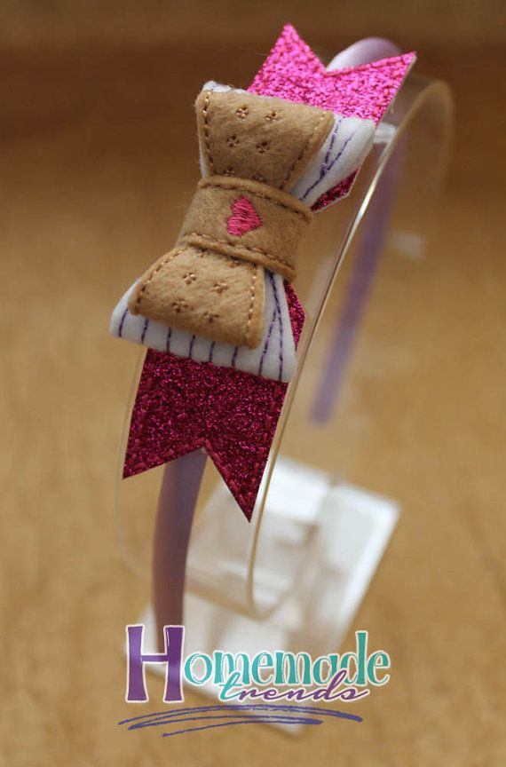 Toy Doctor Hair Accessory-Stuffins Headband от HomemadeTrends