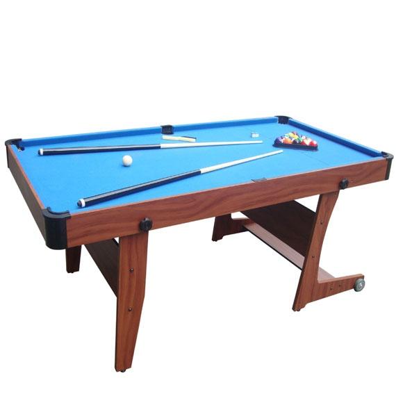 The Saxon 6ft Folding Pool Table