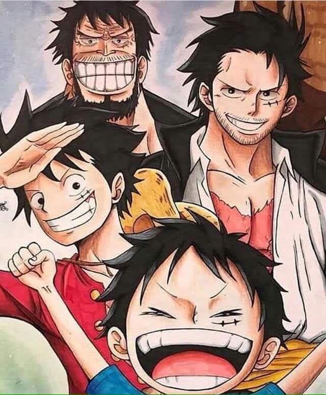Sepanjang seri one piece, kapten perompak topi jerami, monkey d luffy telah bertemu banyak wanita. Que Du Plaisir One Piece One Piece Anime Piecings One Piece Figure