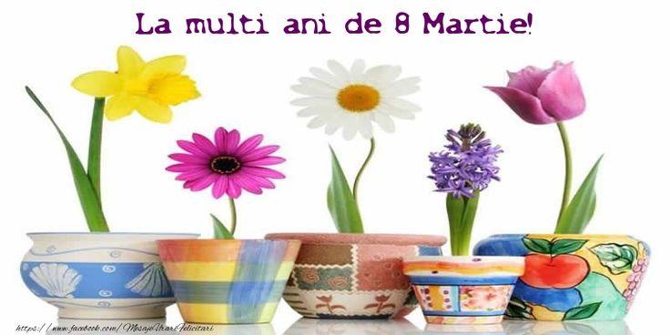 La multi ani de 8 Martie!