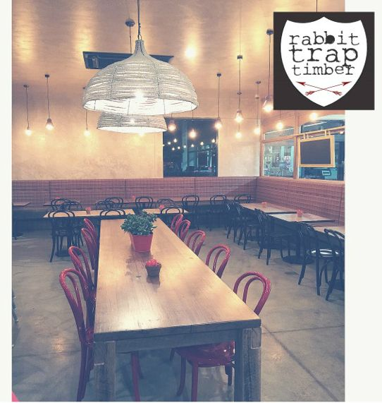 RABBIT TRAP TIMBER - Cafe Fit out, Bowral