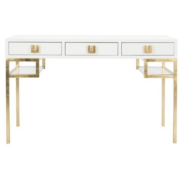 Moore Writing Desk ❤ Liked On Polyvore Featuring Home, Furniture And Desks
