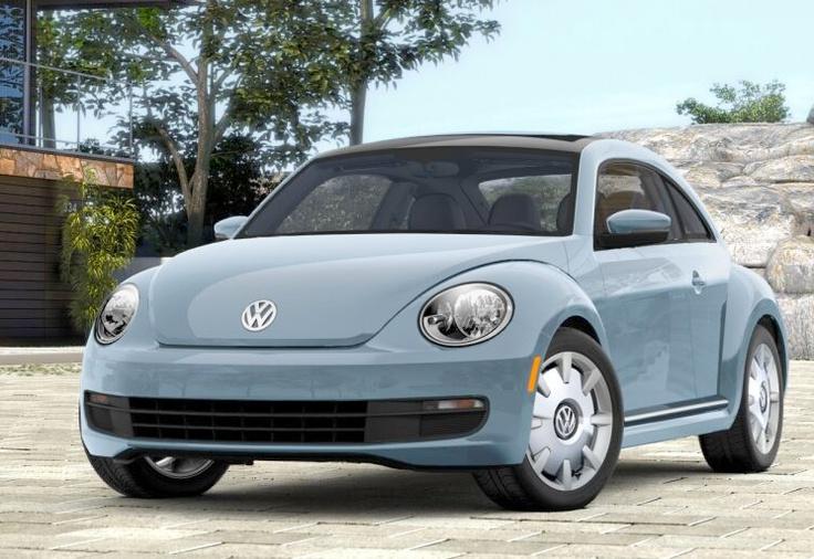 New VW Beetle Denim Blue, I want :) I have now!