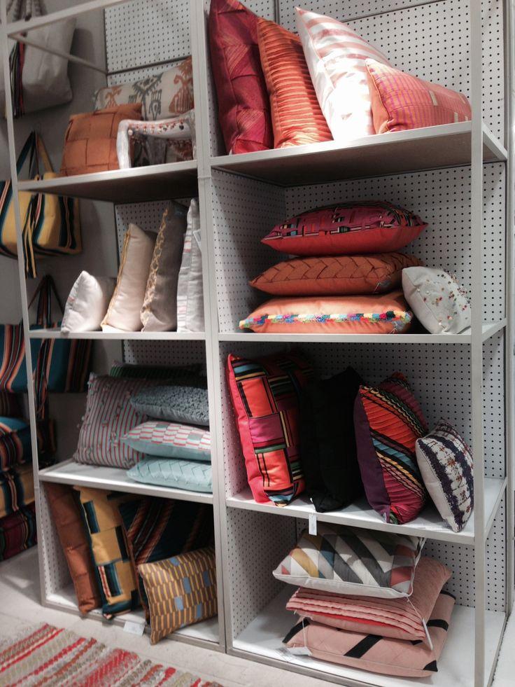 Sunbrella Performance Art's High Performance Pillows! Get Inspired at the Atlanta Market today!