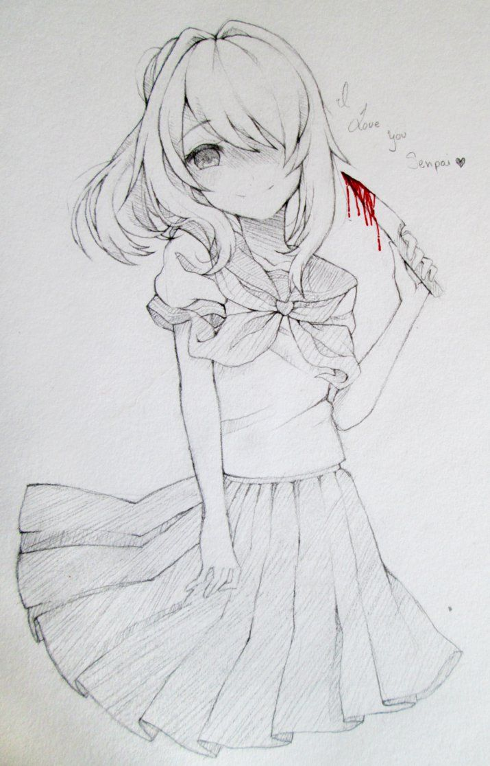 .:Yandere Chan by Kuma-Sweeti on DeviantArt