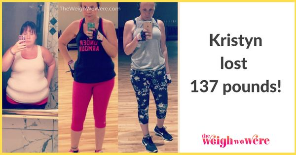 Real Weight Loss Success Stories: Kristyn Lost 137 Pounds By Believing In Herself