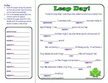 Leap Day Activities | SCHOOL TIME PRESCHOOL | Pinterest
