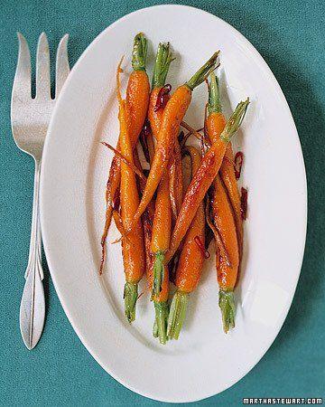 Glazed Carrots and Ginger