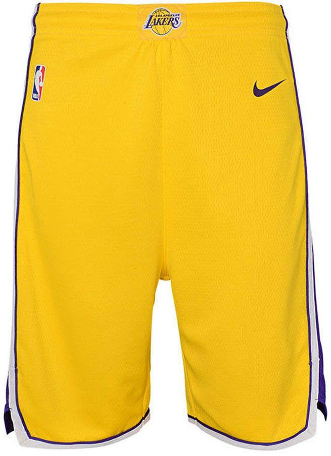 0b088ccf2259 Nike Los Angeles Lakers Icon Swingman Shorts