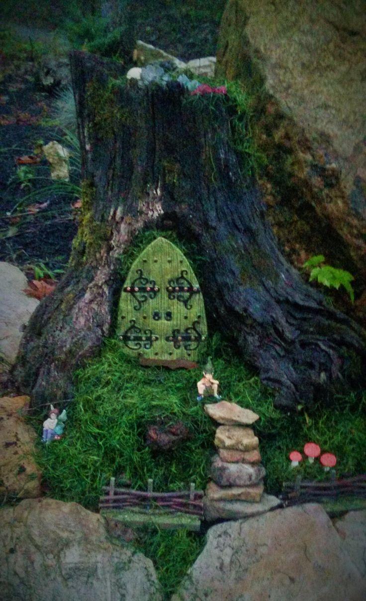 Mini fantasy fairy tree house.