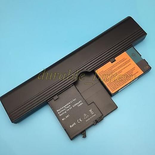 8cell Battery For Lenovo Thinkpad X60t X61t Tablet Pc Series 42t5259 40y8314 4400 Mah 8 Black China