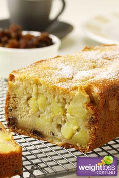 Healthy Cakes Recipes: Apple Cake. #HealthyRecipes #DietRecipes #WeightlossRecipes weightloss.com.au