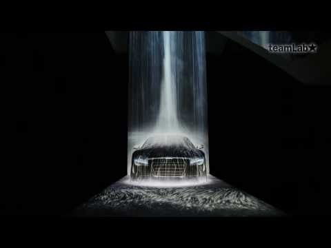 The Waterfall on Audi R8 - YouTube