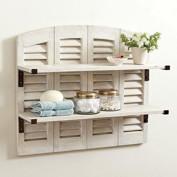 Shutter Shelf | Ballard Designs
