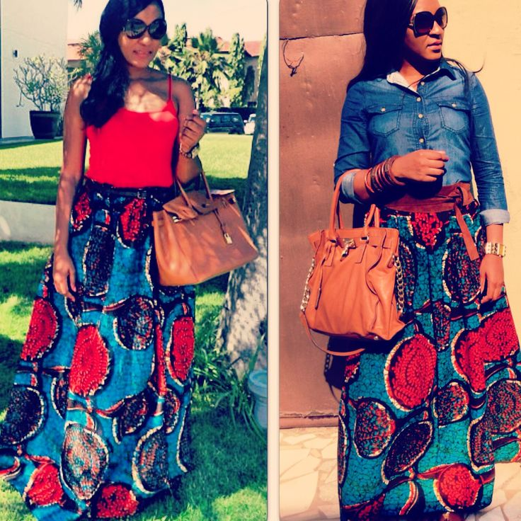 maxi skirt designed by zimba out of africa