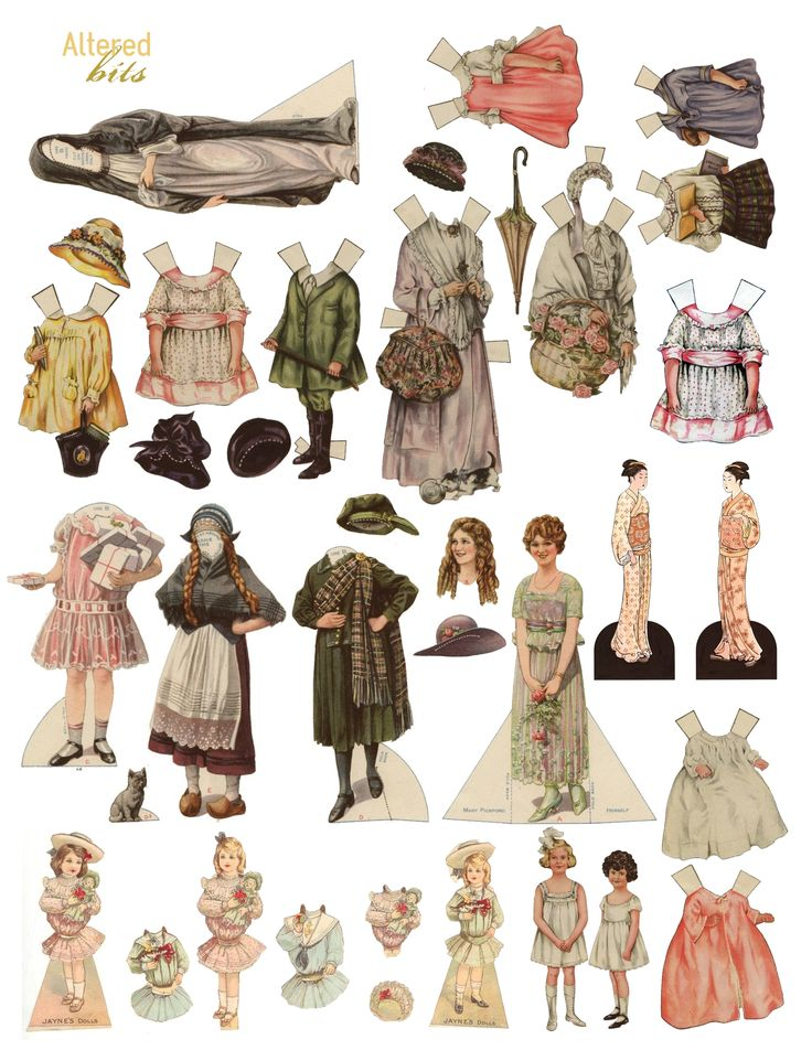 484 best Paper Dolls images on Pinterest
