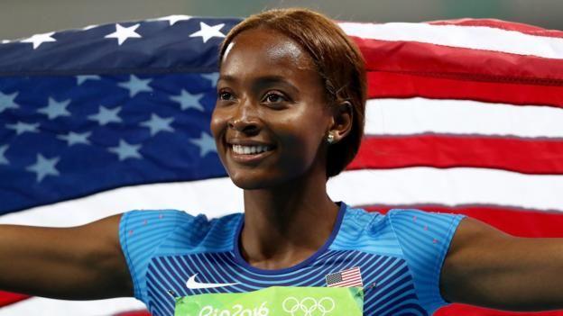 Rio Olympics 2016: Dalilah Muhammad wins 400m hurdles gold, Eilidh Doyle last - BBC Sport